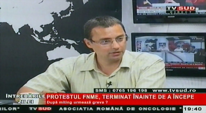 tv sud - n-a fost protest
